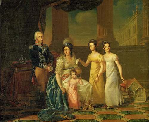 The Family of King Victor